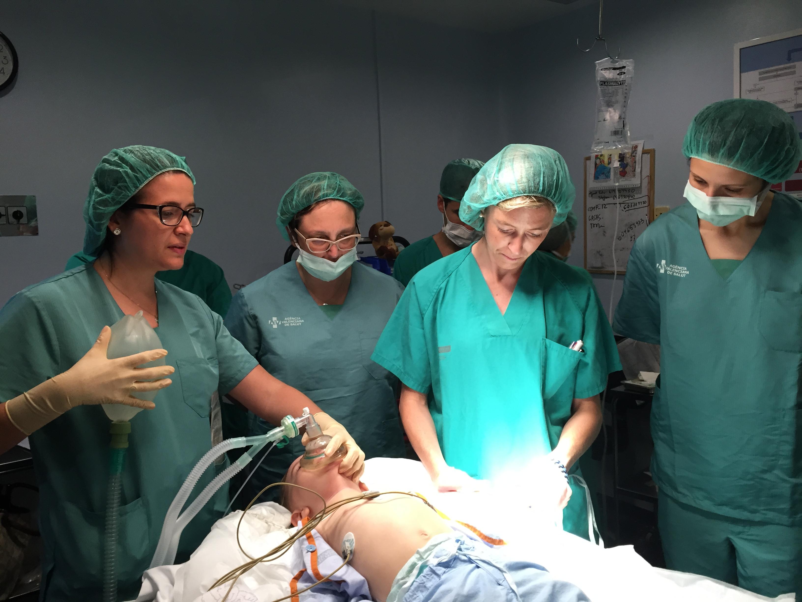 Servicio de Anestesiología, Reanimación y Terapia del..
